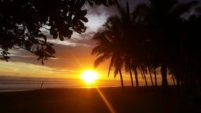 Jaco plaża Costa Rica Obraz Stock