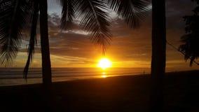 Jaco plaża Costa Rica Zdjęcie Royalty Free