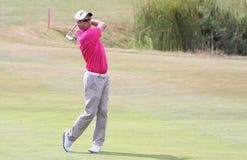 Jaco van Zyl au Français de golf ouvrent 2015 Photos libres de droits