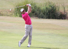 Jaco van Zyl bij het golf het Frans opent 2015 Stock Fotografie