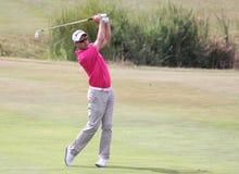 Jaco van Zyl no francês do golfe abre 2015 Fotografia de Stock