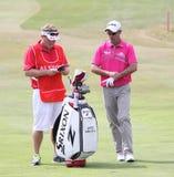 Jaco van Zyl på golffransmannen öppnar 2015 Arkivbilder