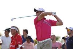 Jaco van Zyl på golffransmannen öppnar 2015 Arkivfoto
