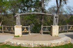 Jacob's drabina w Cameron parku Obraz Royalty Free