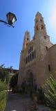 Jacob brunnkyrka i Nablus eller Shechem Fotografering för Bildbyråer