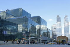 Jacob Javits Convention Center in Manhattan Immagine Stock Libera da Diritti