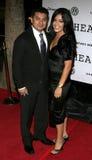 Jacob Vargas och fru Sylvia royaltyfria foton