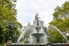 Jacob Wrey lejni fontanna Nowy Jork obrazy stock