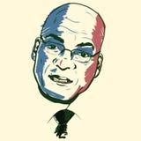 Jacob Zuma portrait stock photo