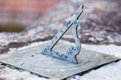 Jacobean sundial Royalty Free Stock Image