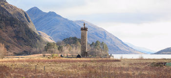 Jacobite Monument Scotland Stock Photo