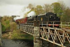 Jacobite. Steamtrain Scotland Royalty Free Stock Photo