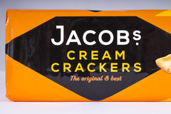 Jacobs Cream Crackers Royalty Free Stock Photos