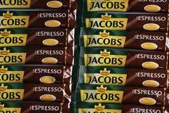 Jacobs Espresso Sticks imagen de archivo
