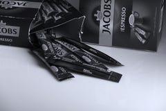 Jacobs Espresso Sticks fotos de archivo