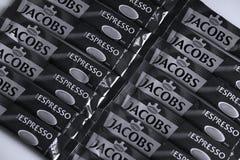 Jacobs Espresso Sticks foto de archivo