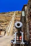 Jacobs Ladder-kanon St.Helena stock foto's