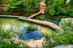 Jacobs Well, Wimberley, TX Foto de Stock Royalty Free