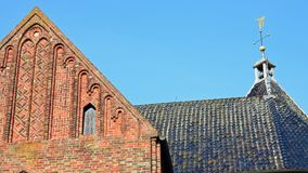 Jacobuskerk在Zeerijp,格罗宁根省  免版税库存图片