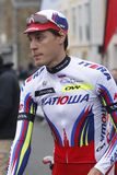 Jacopo Guarnieri Team Katusha Arkivbild