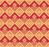 Jacquard striped pattern Royalty Free Stock Photography