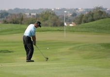 Jacquelin, cuvette de golf du monde, Vilamoura, 2005 Photos stock
