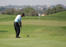 Jacquelin, World Golf Cup, Vilamoura, 2005 Stock Photos