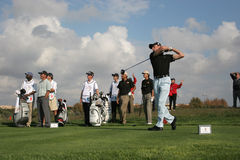 Jacquelin, World Golf Cup, Vilamoura, 2005 Royalty Free Stock Photos