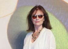 Jacqueline Bisset attends `Magic Lantern` Royalty Free Stock Photography