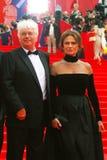 Jacqueline Bisset en el festival de cine de Moscú Fotografía de archivo libre de regalías