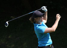 Jacqueline Hedwall at the Fourqueux Ladies Open 2013 Stock Photos