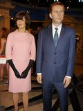 Jacqueline Kennedy and John F. Kennedy Royalty Free Stock Photography