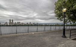 Jacqueline Kennedy Onassis Reservoir Central Park Reservoir Stock Photography