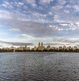Jacqueline Kennedy Onassis Reservoir Central Park Reservoir Stock Image