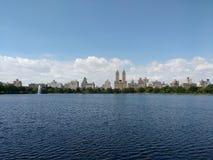 Jacqueline Kennedy Onassis Reservoir, depósito de JKO, depósito del Central Park, Manhattan, NYC, NY, los E.E.U.U. foto de archivo