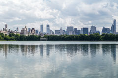 Jacqueline Kennedy Onassis Reservoir im Central Park, NYC stockfotografie