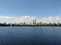 Jacqueline Kennedy Onassis Reservoir, JKO Reservoir, Central Park Reservoir, Manhattan, NYC, NY, USA stock photo
