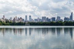 Jacqueline Kennedy Onassis Reservoir no Central Park, NYC Fotografia de Stock
