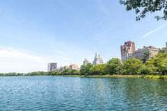 Jacqueline Kennedy Onassis Reservoir. View on the famous Jacqueline Kennedy Onassis Reservoir royalty free stock image