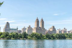 Jacqueline Kennedy Onassis Reservoir. View on the famous Jacqueline Kennedy Onassis Reservoir royalty free stock photos