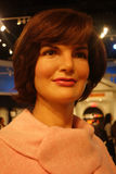 Jacqueline Kennedy Wax Figure Royalty Free Stock Photos