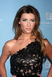 Jacqueline MacInnes Wood arrives at the Bold and Beautiful 25th Anniversary Party Royalty Free Stock Image