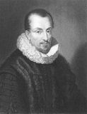 Jacques Auguste de Thou. (1553-1617) on engraving from the 1800s. French historian. Engraved by W.Holl from a picture by Ferdinand and published in London by Stock Photography