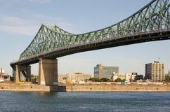 Jacques Cartier桥梁 免版税库存照片