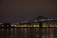 Jacques Cartier Bridge Stock Image