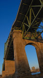 Jacques Cartier Bridge Royalty-vrije Stock Afbeelding