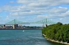 Jacques Cartier Bridge Imágenes de archivo libres de regalías