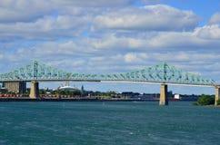 Jacques Cartier Bridge Fotos de archivo libres de regalías