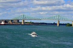 Jacques Cartier Bridge Foto de archivo libre de regalías