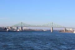 Jacques-Cartier Bridge Fotografia Stock Libera da Diritti
